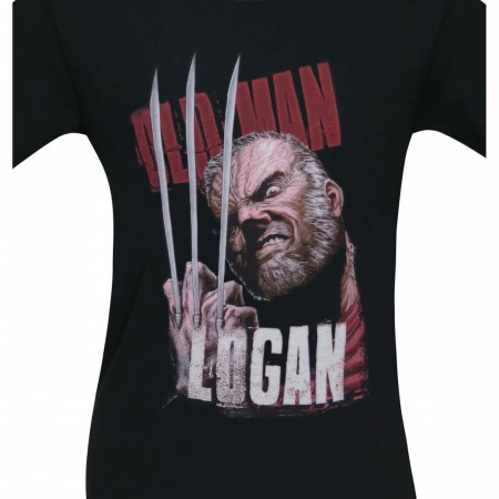 Wolverine Old Man Logan Claws Men's T-Shirt