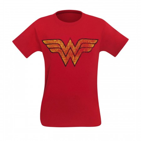 Wonder Woman Distressed Symbol Men's T-Shirt