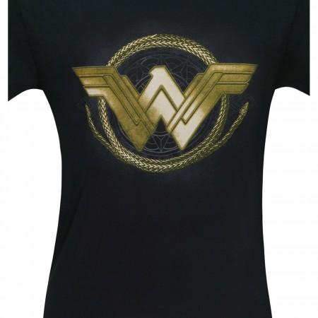 Wonder Woman Movie Golden Lasso Logo Men's T-Shirt