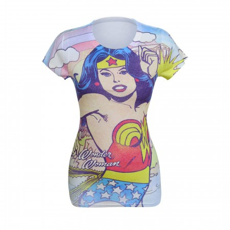 Wonder Woman Hometown Girl Sublimated Women's T-Shirt