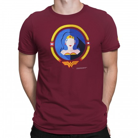 Wonder Woman Minimalist Men's T-Shirt