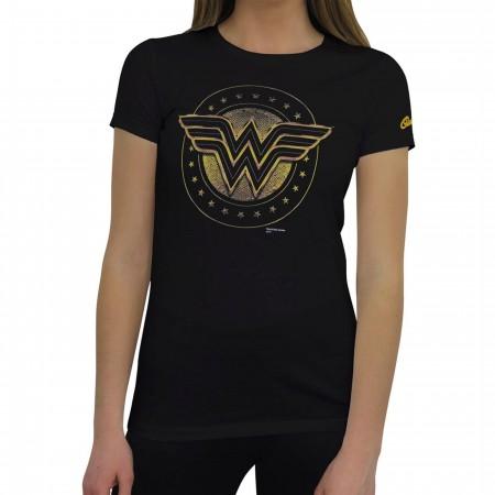 Wonder Woman Shield Symbol Women's T-Shirt