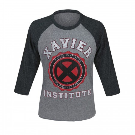X-Men Xavier Institute Men's Baseball T-Shirt