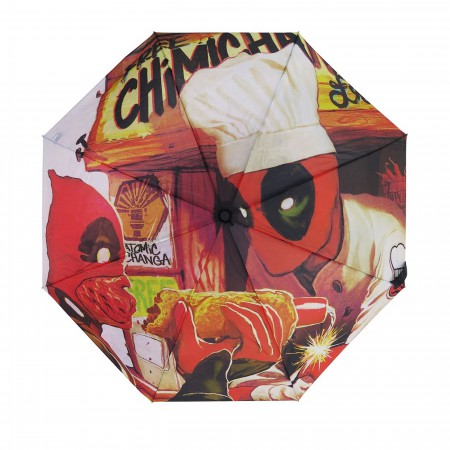 Deadpool Chimichanga Sauce Umbrella