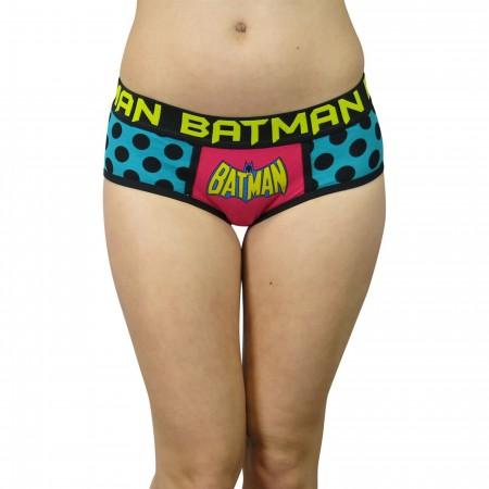 Batman Retro Polka Dots Women's Panty