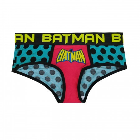 Batman Retro Polka Dots Women's Panty