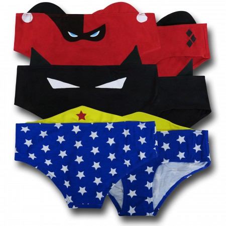 DC Comics Ear Panties 3-Pack