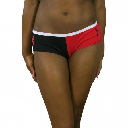 Harley Quinn Red & Black Panty 3-Pack