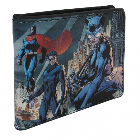 Batman Hush #619 Cover Men's Bi-Fold Wallet