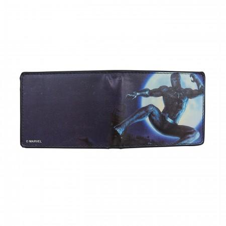 Black Panther Hunter's Moon Men's Bi-Fold Wallet