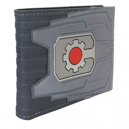 Cyborg Chrome Weld Patch Men's Bi-Fold Wallet