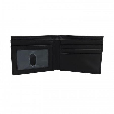 Cyborg Chrome Weld Patch Men's Bi-Fold Wallet