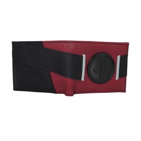 Deadpool Black Badge Costume Men's Bi-Fold Wallet