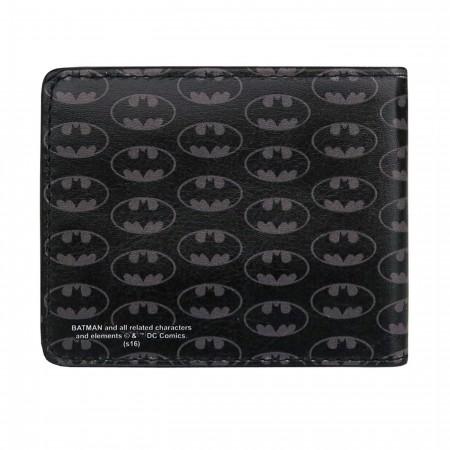Batman Symbols All-Over Print Bi-Fold Wallet