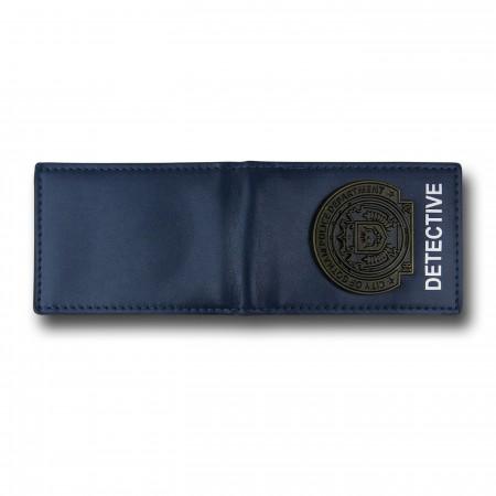 Batman Gotham Police Badge Credit Card Wallet