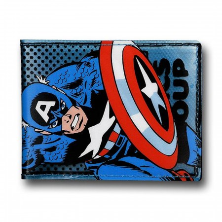 Captain America See-Thru Fat Free Wallet