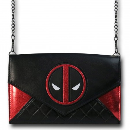 Deadpool Envelope Wallet with Chain