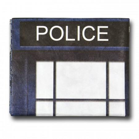Doctor Who Tardis Tyvek Wallet