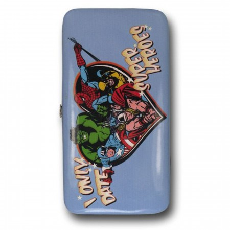 Marvel Date Heroes Ladies Hinged Wallet