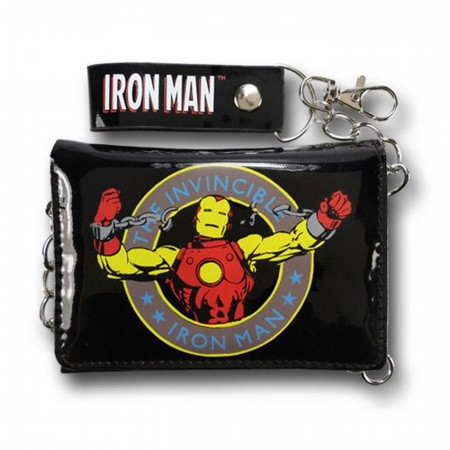 Iron Man Burst Chains Chain Wallet