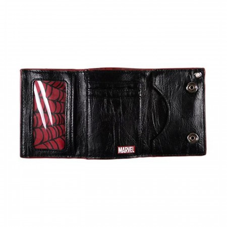 Spiderman Eyes Chain Wallet
