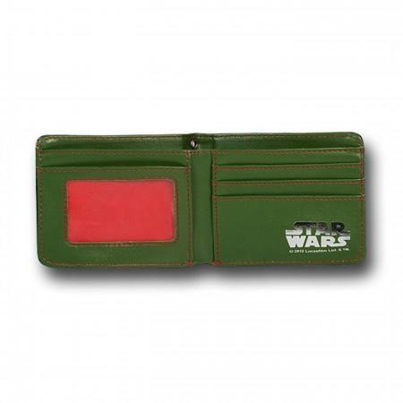 Star Wars Boba Fett Bounty Hunter Wallet