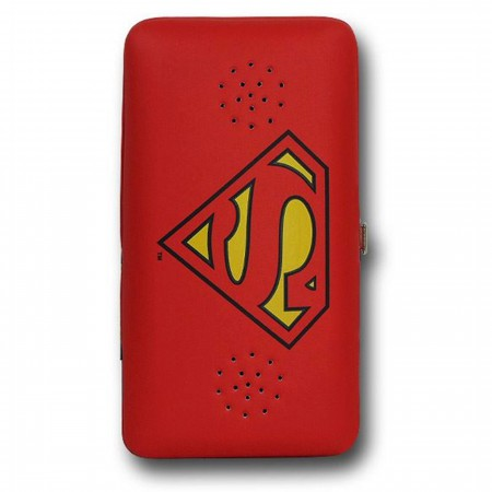 Superman Symbol Ladies Wallet w/Speaker