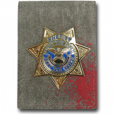Walking Dead Badge Wallet
