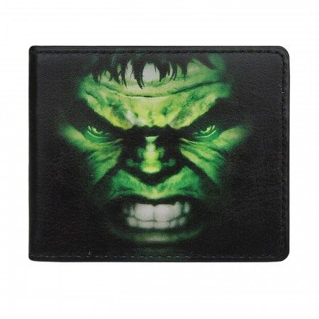Hulk Close-Up Bi-Fold Wallet
