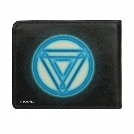 Iron Man Arc Reactor Bi-Fold Wallet