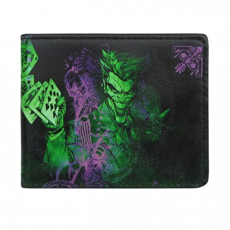 Joker Flipping Cards Bi-Fold Wallet