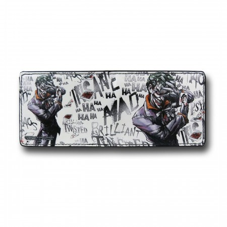 Joker Cards HA HA Men's Bi-Fold Wallet