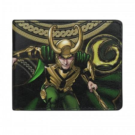 Loki Scepter Bi-Fold Wallet
