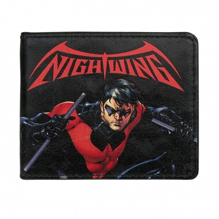 Nightwing Comic Issue #1 Bi-Fold Wallet