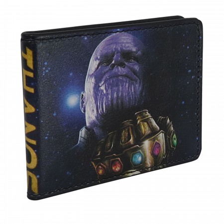 Infinity War Thanos the Mad Titan Bi-Fold Wallet