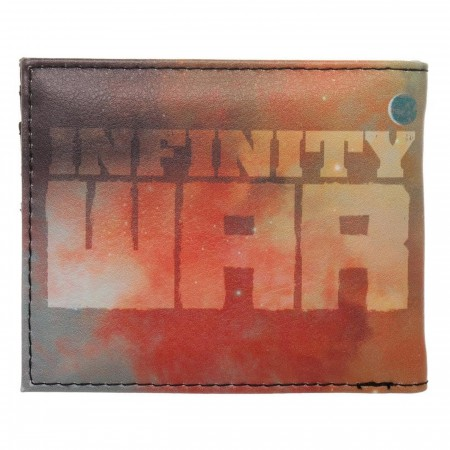 Infinity War Thanos Quickturn Men's Bi-Fold Wallet