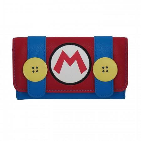 Nintendo Mario Bros.Coveralls Women's Wallet