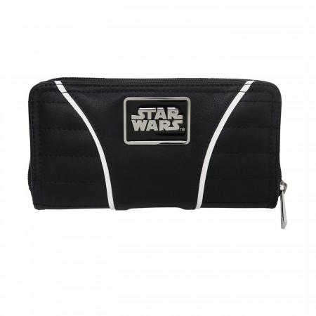 Star Wars Imperial Crest Women's Zipper Wallet