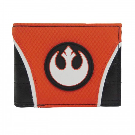 Star Wars Rebel Alliance Flight Suit Bi-Fold Wallet