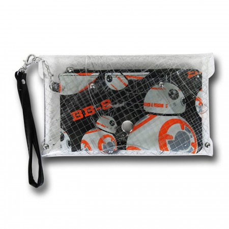 Star Wars The Force Awakens BB-8 Wristlet Wallet