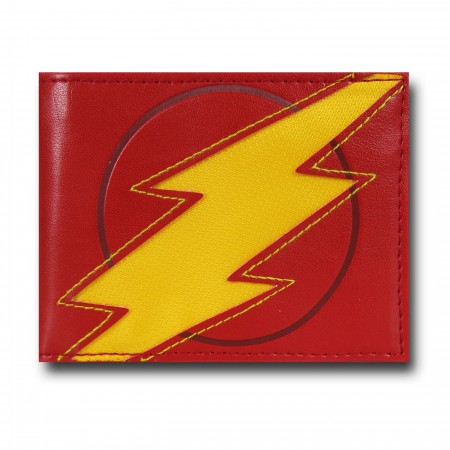 Flash Lightning Reveal Men's Bi-Fold Wallet