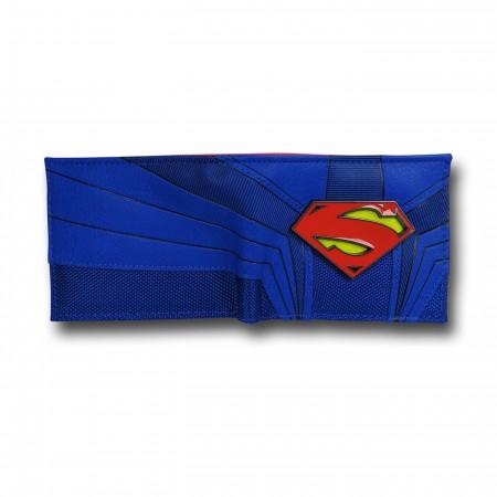 Superman Suit Up Bi-Fold Wallet