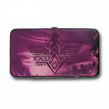 Batman Vs Superman Wonder Woman Purple Wallet
