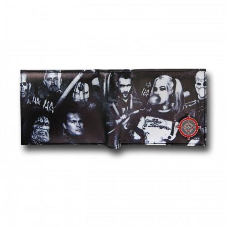 Suicide Squad Gang Men's Bi-Fold Wallet