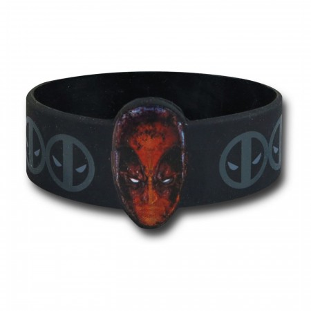 Deadpool Face Wristband
