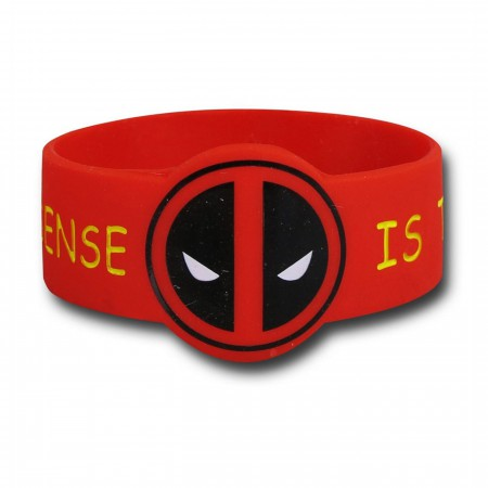 Deadpool Symbol Common Sense Wristband