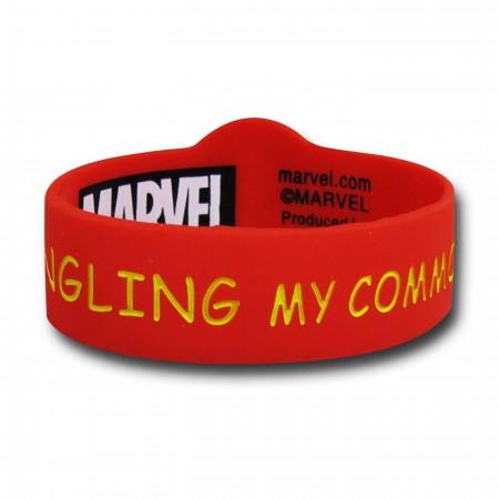Deadpool Symbol Common Sense Wristband
