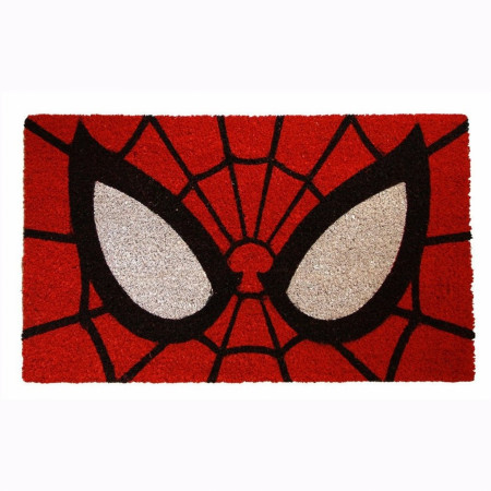 "Spider-Man Eyes 17""x 29"" Doormat with Non-skid Back"