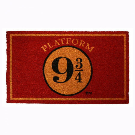 "Harry Potter Platform 9 3/4 17""x 29"" Doormat with Non-skid Back"