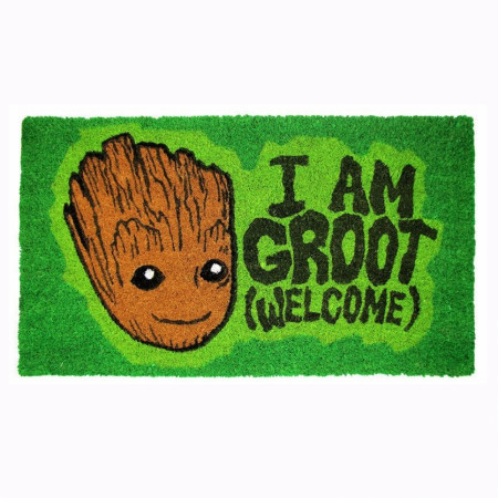 "Guardians of the Galaxy I Am Groot 17""x 29"" Doormat with Non-skid Back"